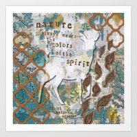 Nature Spirit Art Print