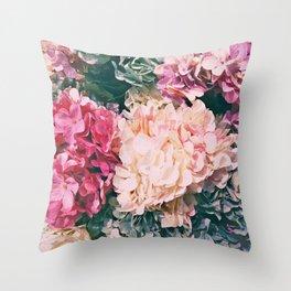 Pastel mania Throw Pillow