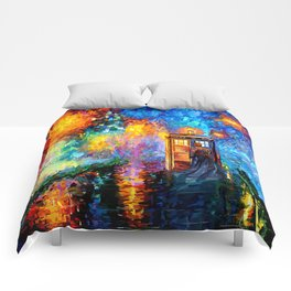 The 10th Doctor who Starry the night Art painting iPhone 4 4s 5 5c 6 7, pillow case, mugs and tshirt Comforters
