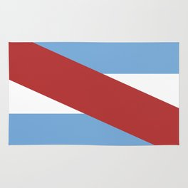 Entre Rios flag Argentina Rug