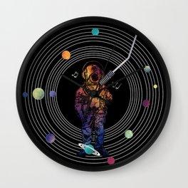Musical Solar System Wall Clock