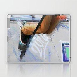 Downhill Run - Stunt Scooter Rider Laptop & iPad Skin