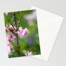 Flowering Almond Blossoms II Stationery Cards