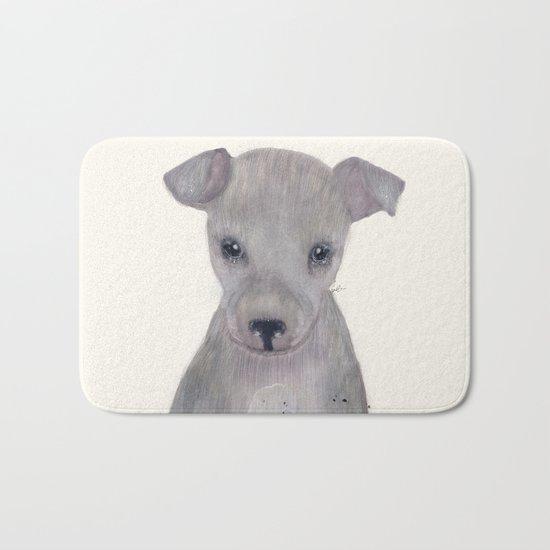 little greyhound Bath Mat