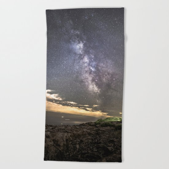 Milkyway at the Backshore Beach Towel
