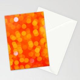 Orange Disco Fever Stationery Cards