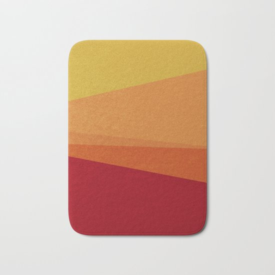 Stripe X Orange Peel Bath Mat