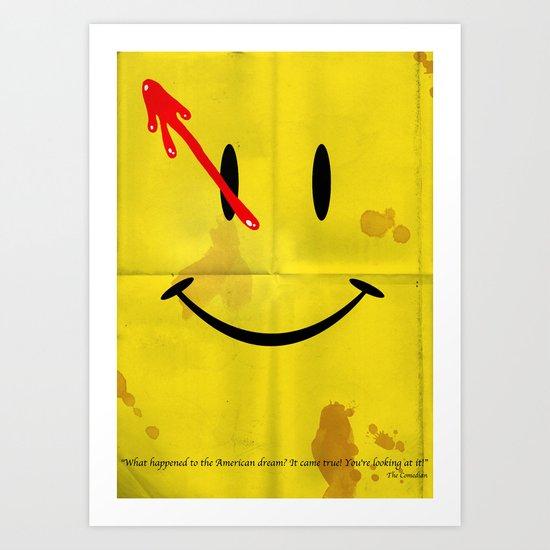 The Comedian Art Print