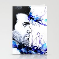 derek hale Stationery Cards featuring Derek Hale by Sterekism