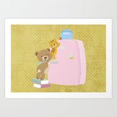 We love biscuits Art Print