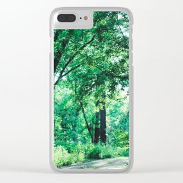 Shine a light Clear iPhone Case