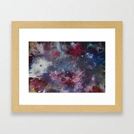 univers Framed Art Print