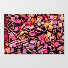 French Licorice Canvas Print