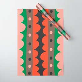 Rick Rack Garden Wrapping Paper
