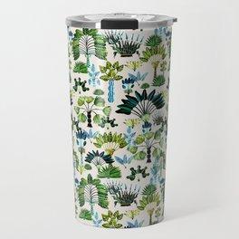 Exotic Garden Green Travel Mug