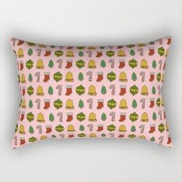 Christmas Cookies (Pink) Rectangular Pillow
