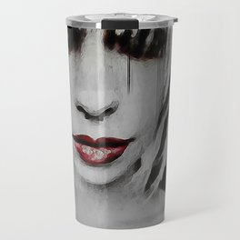Lyric Portrait Travel Mug