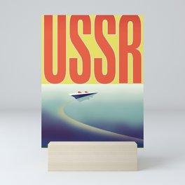 USSR Soviet Travel poster Mini Art Print