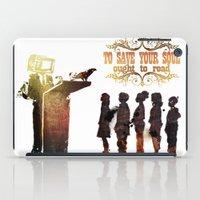 read iPad Cases featuring Read by Ƃuıuǝddɐɥ-sı-plɹoʍ-ɹǝɥʇouɐ
