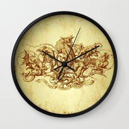 Sins Wall Clock