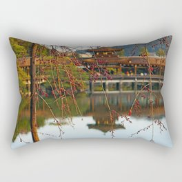 Heian Jingu Shrine Kyoto Japan Rectangular Pillow