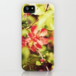 Heart of Spring iPhone Case