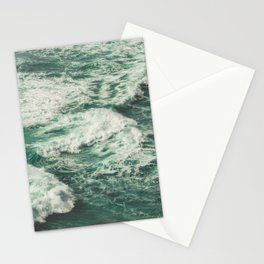 Wave Swirl Stationery Cards