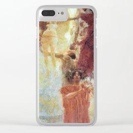 Gustav Klimt Composition for Medicine Clear iPhone Case