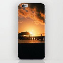 Hanalei Pier at Sunset iPhone Skin
