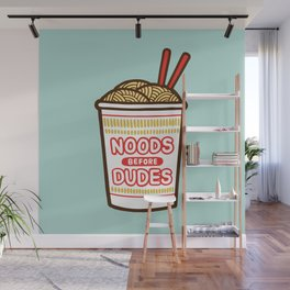 Noods Before Dudes Wall Mural