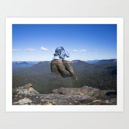 Darug Lovers The Blue Mountains Art Print