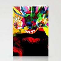 diablo Stationery Cards featuring diablo 2 by Alvaro Tapia Hidalgo