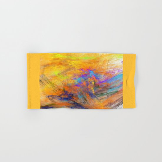 Colour Explosion (A7 B0002) Hand & Bath Towel