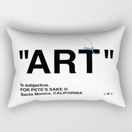 """ART"" Rectangular Pillow"