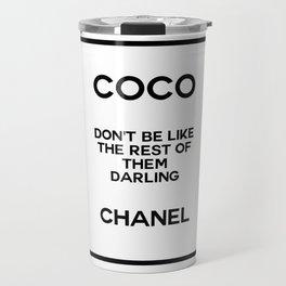 coco quote no. 18 Travel Mug