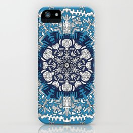 Trance Dream - Maya (Double Blue Edition) iPhone Case