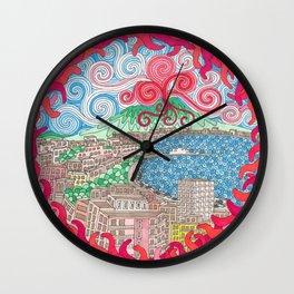 Christmas Ball framed Wall Clock