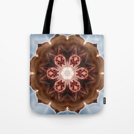 Intimate Sexual Mandala Nude Female Naked Closeup Vulva Abstracted Sensual Sexy Erotic Ar Tote Bag