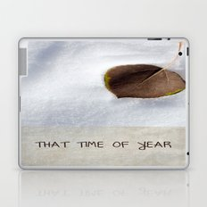 That Time of Year Laptop & iPad Skin