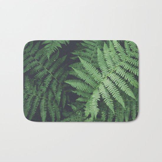 Fern Bush Nature Photography | Botanical | Plants Bath Mat