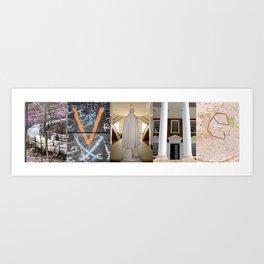 CHATLOTTESVILLE1 - CVILLE Art Print