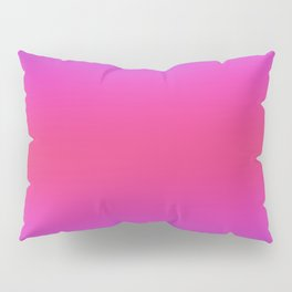 Purple and Pink And Purple Ombre Pillow Sham
