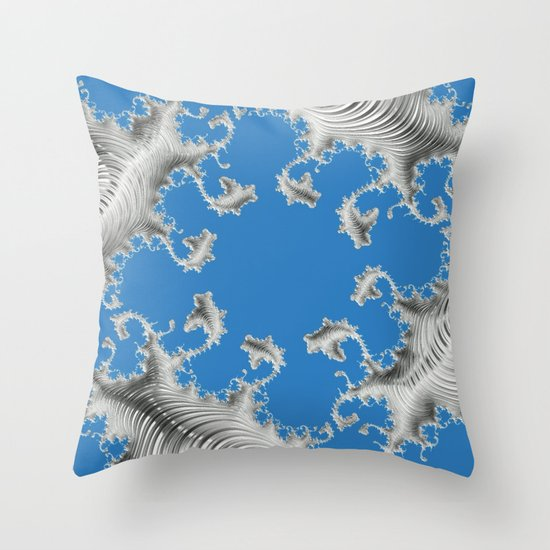 Special Fractal 15 Throw Pillow