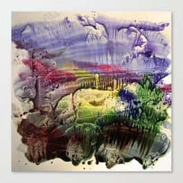 abstract composition 3 . artwork Canvas Print