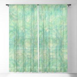 Spring Sprung Sheer Curtain