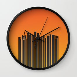 Sydney City Barcode Wall Clock