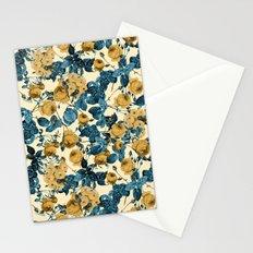 80's summer garden Stationery Cards
