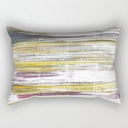 Baby powder abstract watercolor Rectangular Pillow