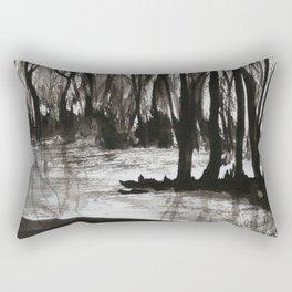 Brent skog - Gerlinde Streit Rectangular Pillow