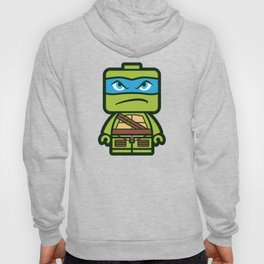 Chibi Leonardo Ninja Turtle Hoody
